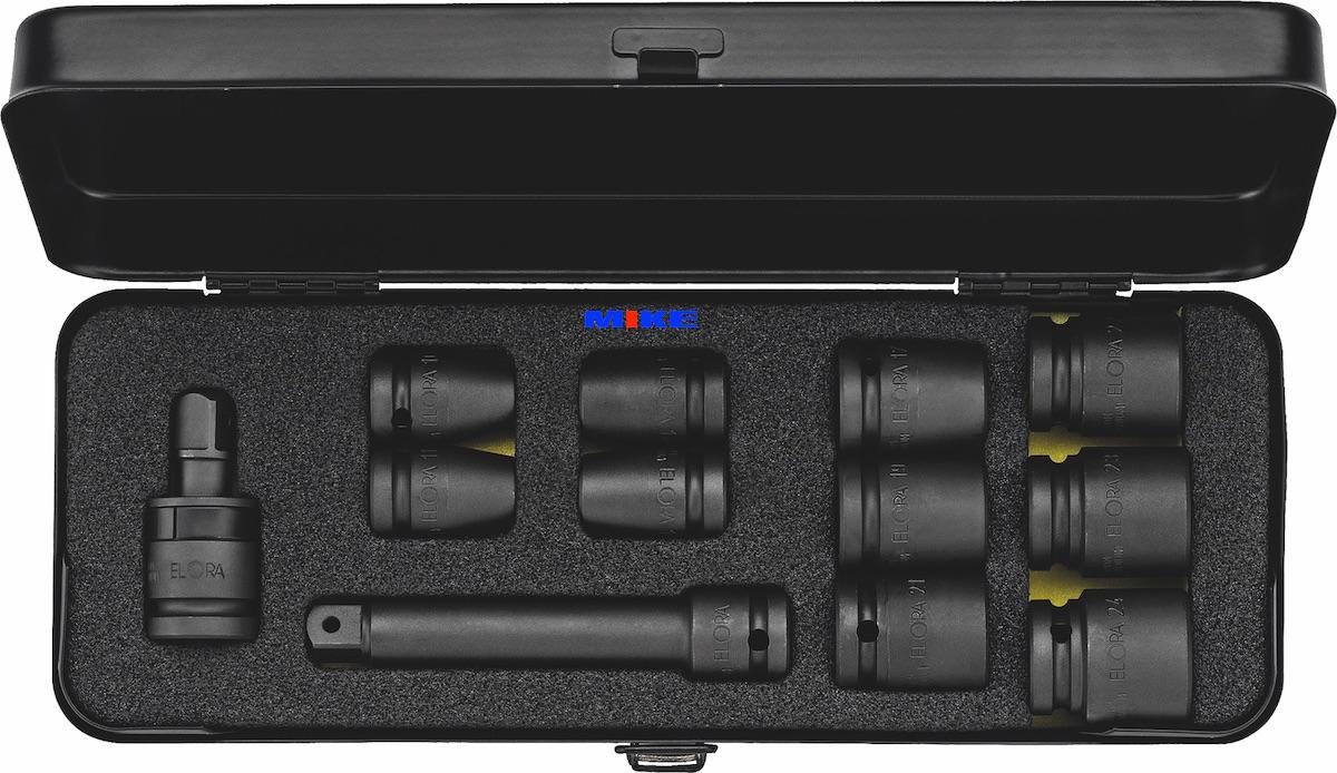 bộ tuýp đen 12 chi tiết từ 10 đến 24mm. 790-S12