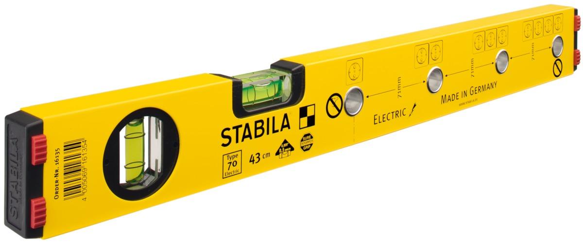 Thước thủy cho thợ điện Stabila