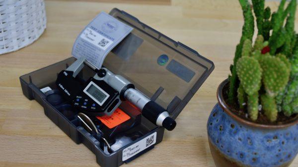 230130 panme điệ tử kỹ thuật số thang đo 0-25mm. Vogel Germany