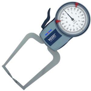 240435 đồng hồ đo rãnh từ 0-10mm, chống thấm nước cấp IP65.