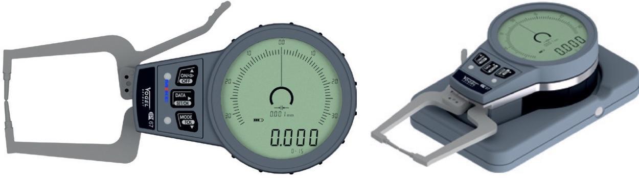 Đồng hồ điện tử đo ngoài, độ dày phôi