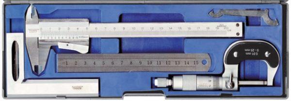 239911 bộ thước cặp du xích 150mm, panme 0-25mm