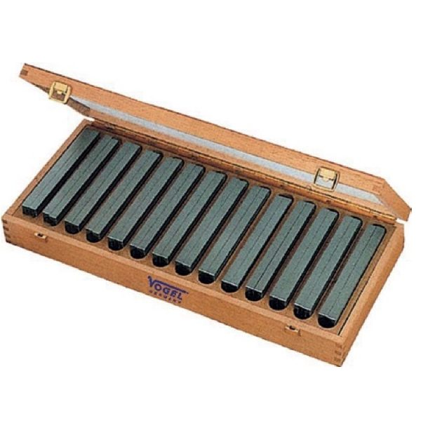 260600 bộ căn mẫu song song 14 cặp từ 14 đến 50mm đựng trong hộp gỗ