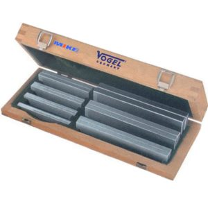 260611 Bộ căn mẫu song song 4 đến 40mm, 7 cặp cao 100m 160mm