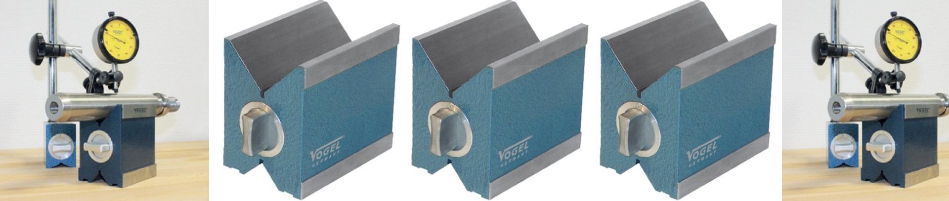 3301 khối V-Block có từ tính. Megnatic Measuring
