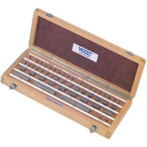 350005 bộ chuẩn song song 112 miếng cấp chính xác class 0, vật liệu thép.