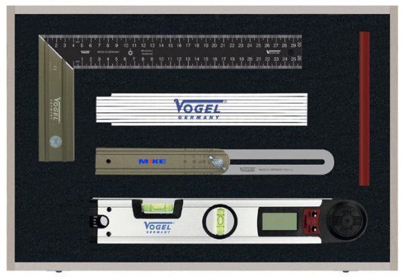 509901.2 bộ thước cho ngành mộc của Vogel Germany
