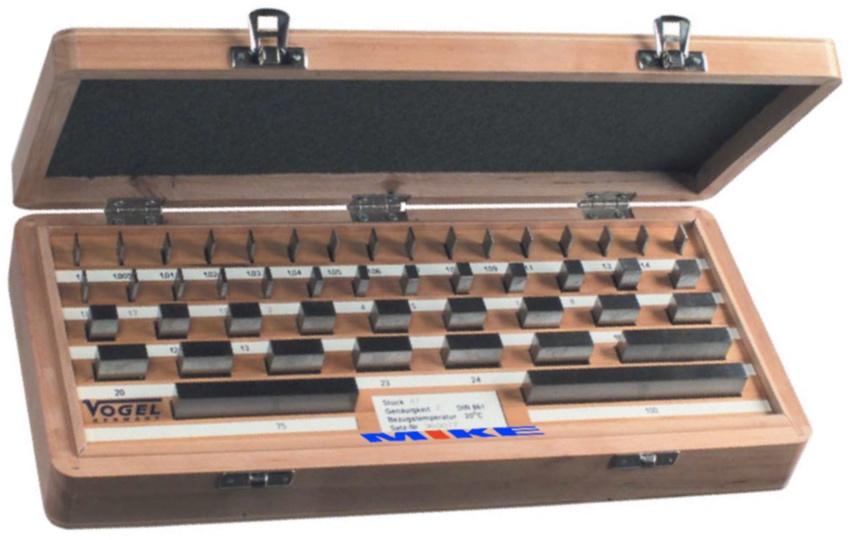 Parallel Gauge Block Set - Vogel Germany