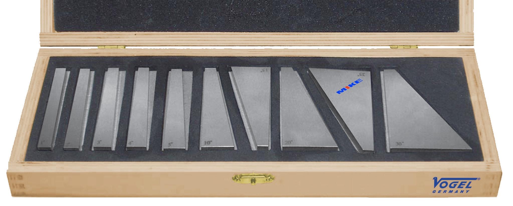 Bộ căn mẫu chuẩn góc các loại