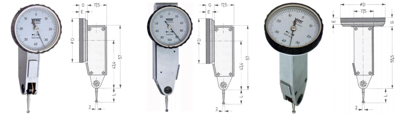 Đồng hồ so chân què Vogel Germany