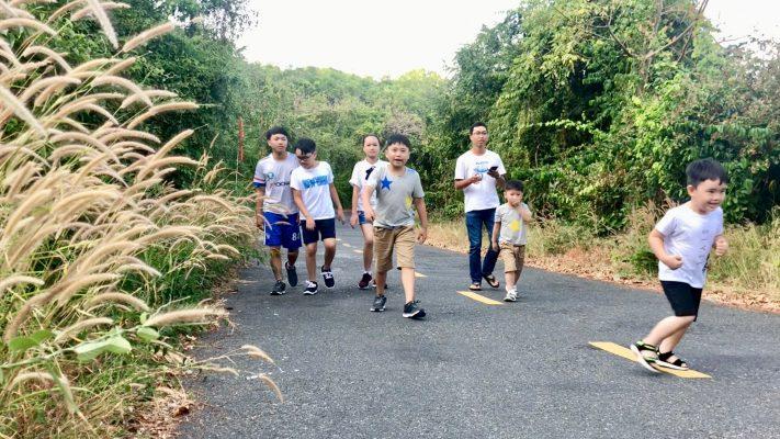 Đầu năm chinh phục thử thách Núi Minh Đạm