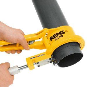 Dao cắt ống nhựa tới đường kính 110mm. REMS CUT 110P