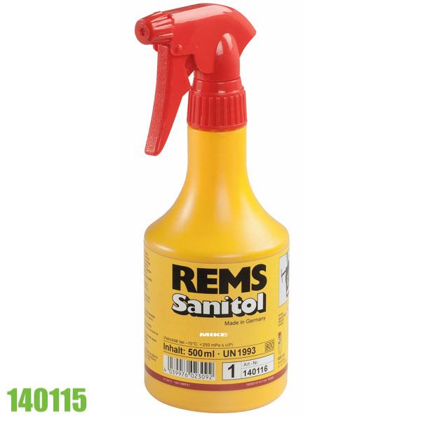 140115 bình xịt dầu bôi trơn 600ml REMS Sanitol, dùng cho tiện ren ống