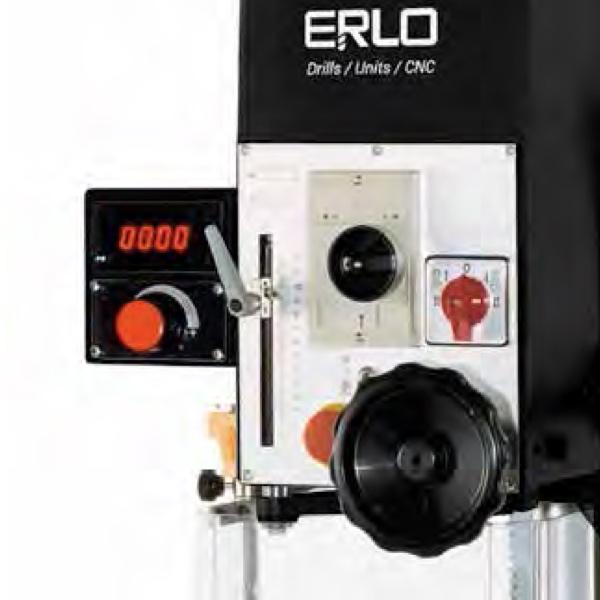 Bộ hiển thị tốc độ khoan trên máy khoan cần ERLO