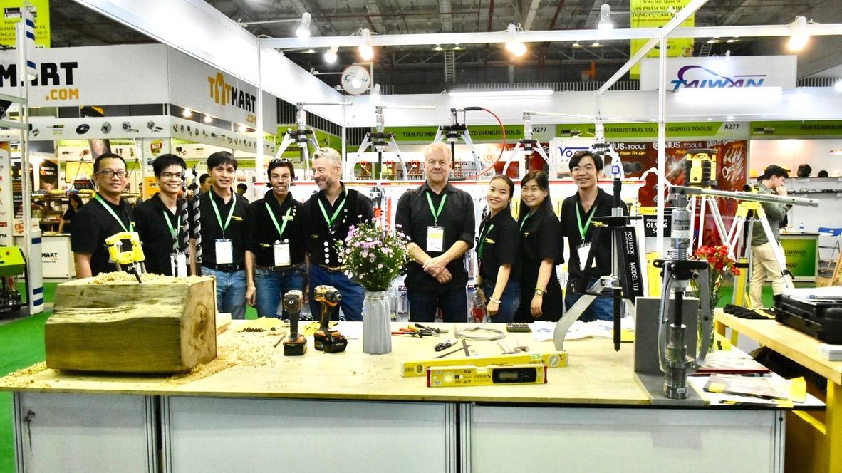 Hội chợ Q7, năm 2019 với Famag Germany